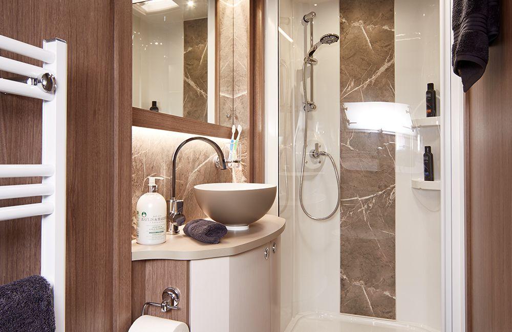 2020 Coachman Laser 875 Bathroom