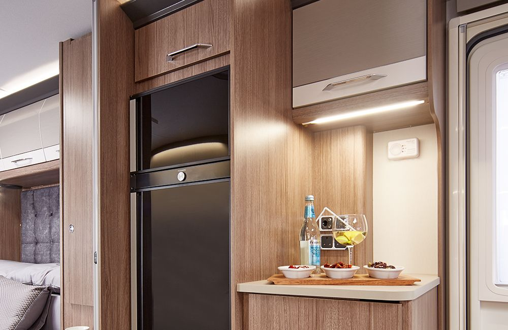 2020 Coachman Laser 875 Fridge